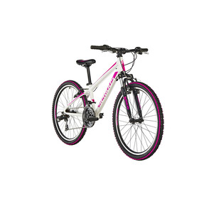 "Serious Rockville Juniorcykel Barn 24"" pink/vit"